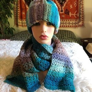 Avrilon Accessories - Tight Cap or Slouchy Hat and Scarf